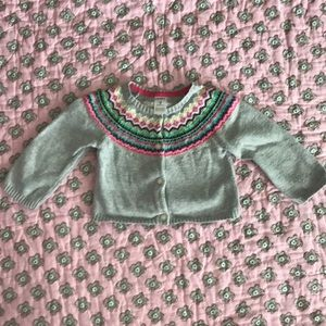 Carters fairisle cardigan